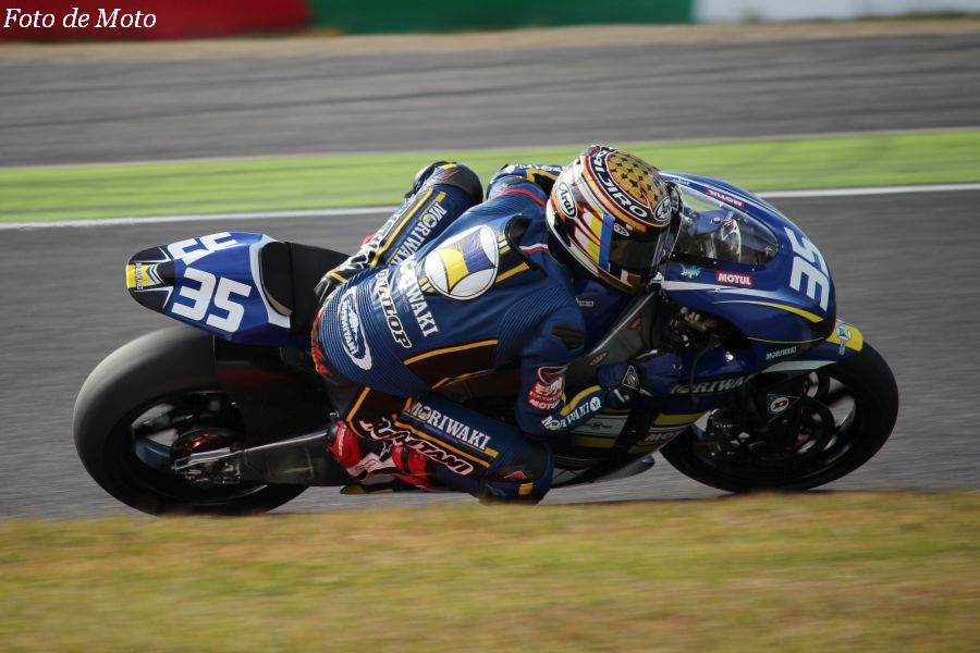 J-GP2 #35 MORIWAKI RACING 日浦 大治朗 MORIWAKI MD600