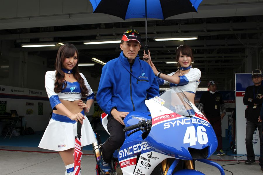 J-GP2 #46 SYNCEDGE 4413 星野 知也 Honda HP6