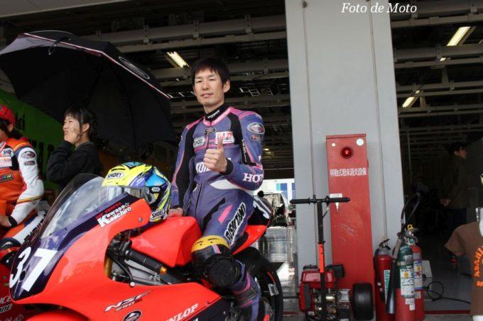 J-GP3 #37 チームKOHSAKA 川瀬 啓一郎 Honda NSF250R