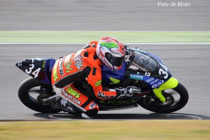 J-GP3 #34 FLEX Racing TEAM 岸田 慶一 Honda NSF250R
