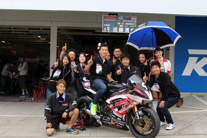 ST600 #9 GBSレーシング·YAMAHA 近藤 湧也 YAMAHA YZF-R6