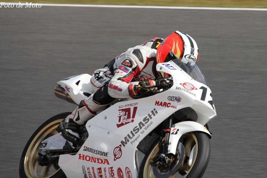 J-GP3 #12 MuSASHi RT Jr. 栗原 佳祐 Honda NSF250R