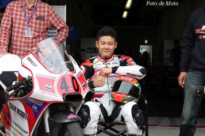 J-GP3 #40 TEAM NOBBY & TEC2 三原 壮紫 Honda NSF250R