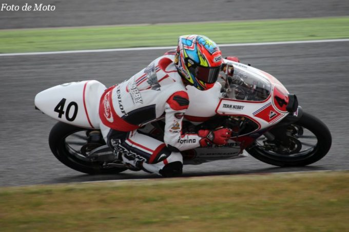 J-GP3 #40 TEAM NOBBY & TEC2 三原 壮紫 Honda NSF250R