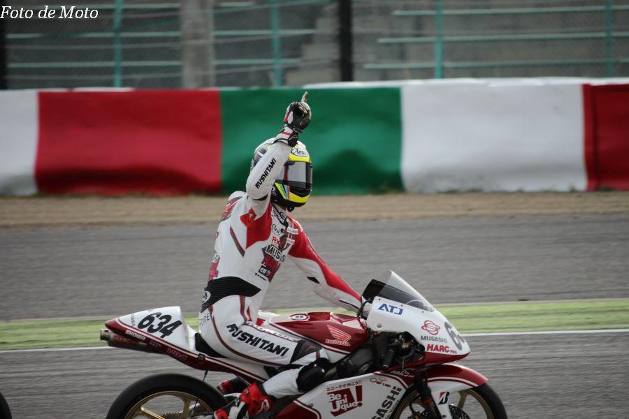 J-GP3 #634 MuSASHi RTハルク·プロ 水野 涼 Honda NSF250R