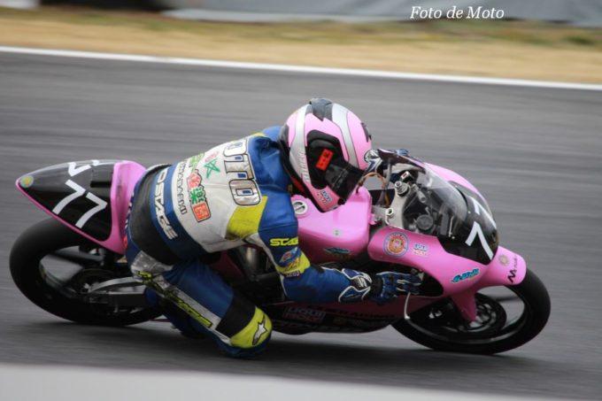 J-GP3 #77 メバルR☆OX&長柄山ロケッツ 元 義人 Honda RS125R