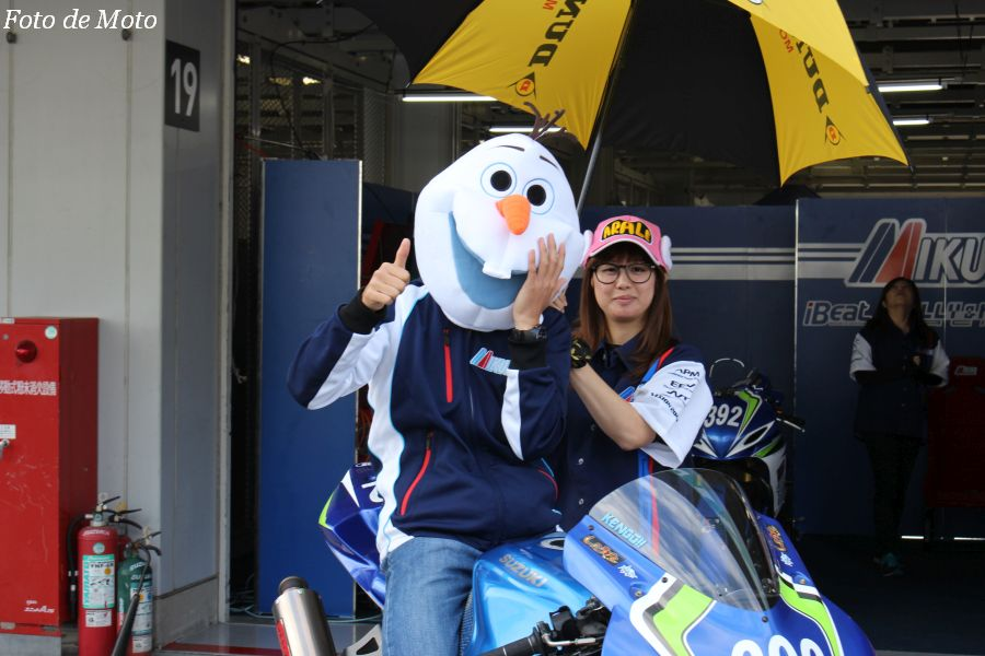 J-GP2 #392 ミクニ テリー&カリー 長尾 健吾 SUZUKI GSXR600