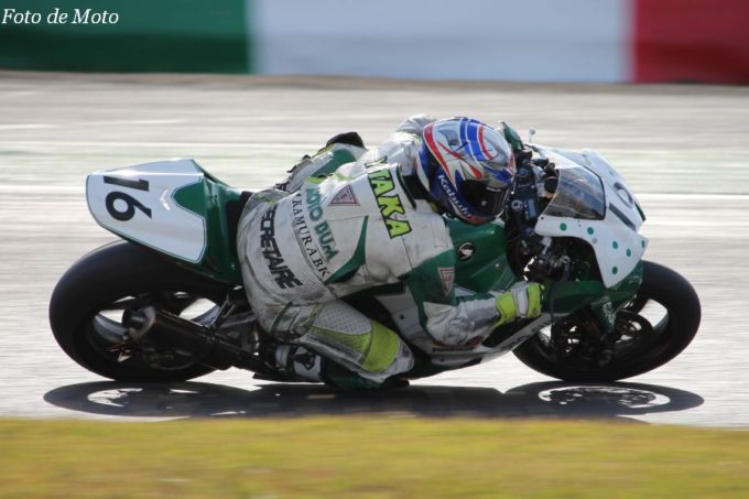 J-GP2 #16 MOTOBUM HONDA 中村 豊 Honda CBR600RR