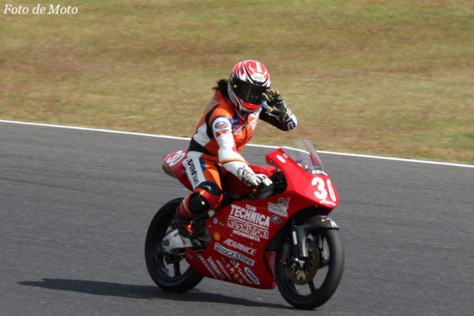 J-GP3 #30 TECHNICA with KUSHITANI西宮 中山 愛理 Honda NSF250R