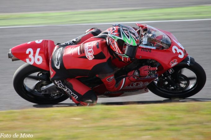 J-GP3 #36 ノザワレーシングファミリー 野澤 秀典 Honda NSF250R