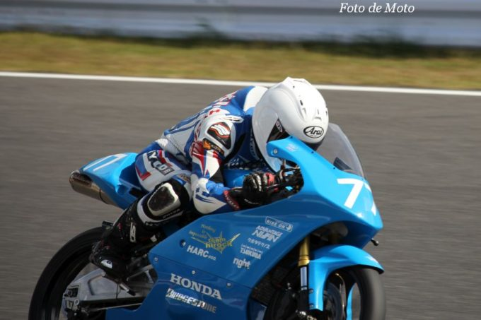 J-GP3 #77 team hirock & HARC 大澤 恒貴 Honda NSF250R
