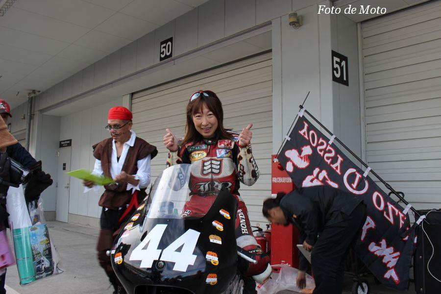 J-GP3 #44 GARAGE.M&(有)石原商店 小沢 良美 Honda NSF250R