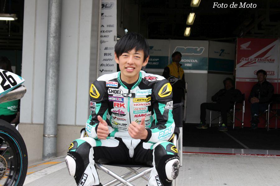 J-GP3 #26 P.MU 7C HARC 関野 海斗 Honda NSF250R