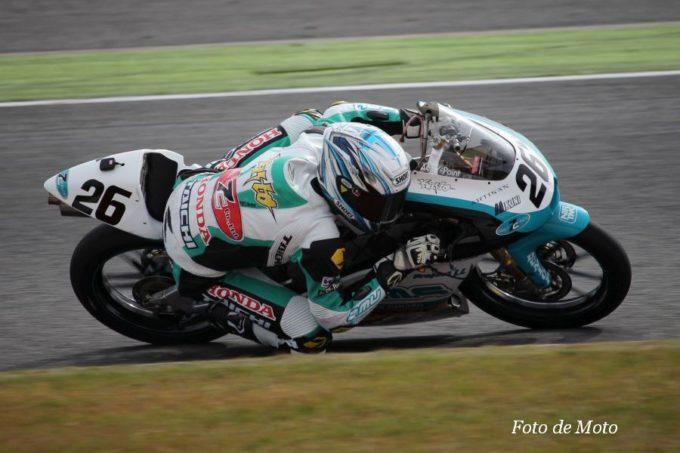 J-GP3 #26 Y P.MU 7C HARC 関野 海斗 Honda NSF250R
