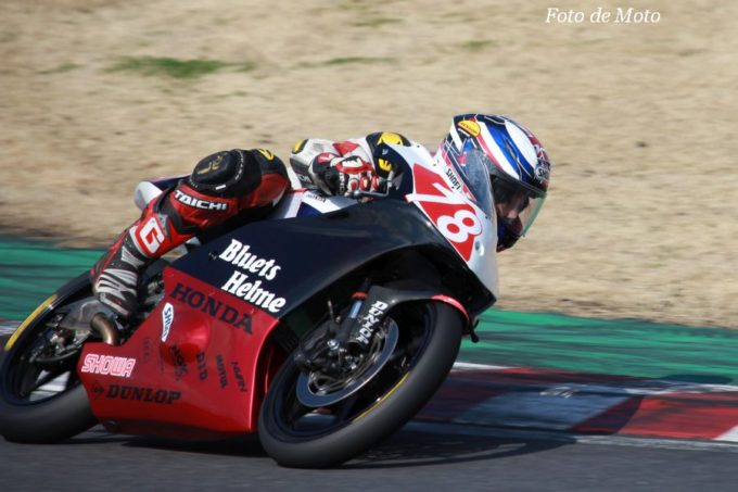 J-GP3 #78 Hondaブルーヘルメット 髙橋 勇輝 Honda NSF250R