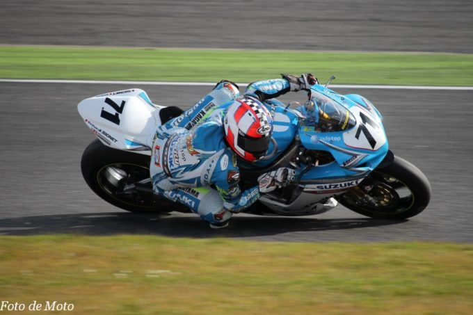 J-GP2 #71 Team KAGAYAMA 山元 聖 SUZUKI GSX-proto71