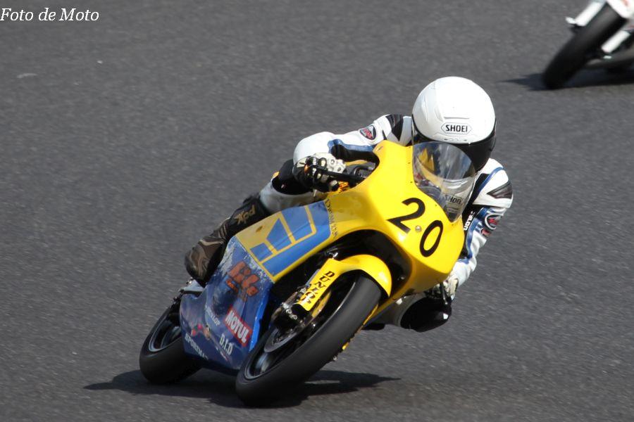 J-GP3 #20 チームライフ·ドリーム北九州 山本 恭裕 Honda NSF250R