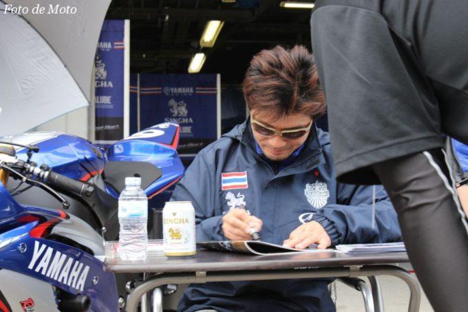 ST600 #6 ヤマハタイランド Racing Team 横江 竜司 YAMAHA YZF-R6