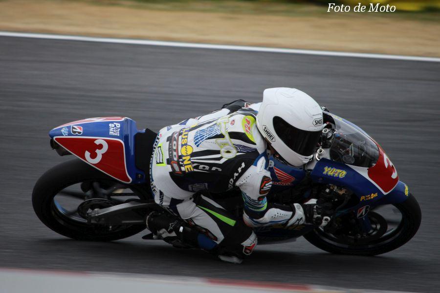 J-GP3 #3 TEAM PLUSONE 福嶋 佑斗 Honda NSF250R