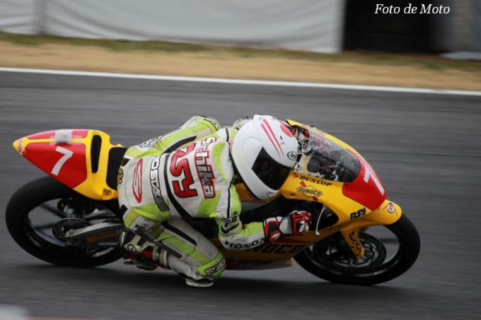 J-GP3 #7 ライダーズサロン横浜 梶山 采千夏 Honda NSF250R