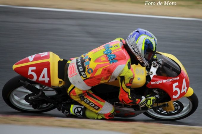 S80 #54 knight-project&パワーパイプレーシング 内藤 真澄 PowerPipe YZR85