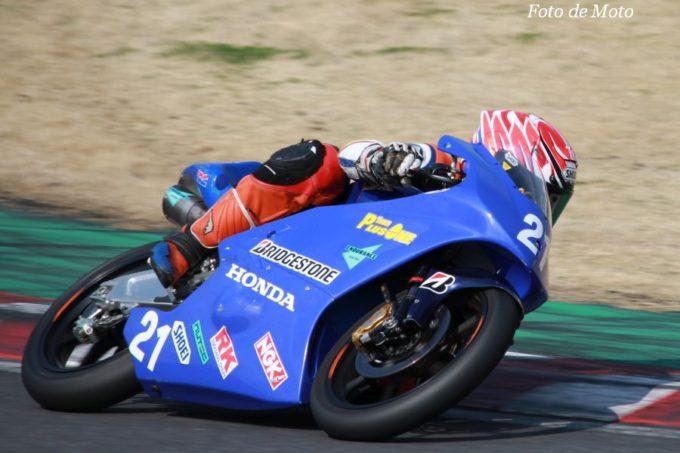 J-GP3 #21 TEAM PLUSONE 中山 愛理 Honda NSF250R