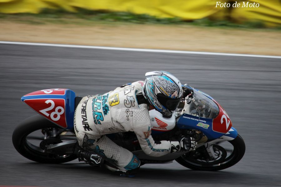 J-GP3 #28 RH松島NTRワコーズ九和会 岡田 祐一 Honda NSF250R