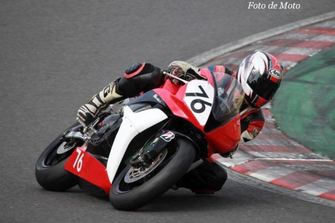 ST600N #76 二輪部 豊留 丈彦 Honda CBR600RR