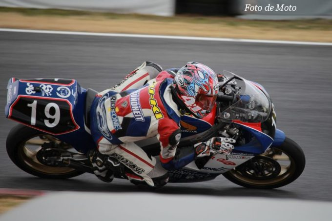TC250 #19 ゲズンハイトレーシング 増田 雄基 Honda NSR250R