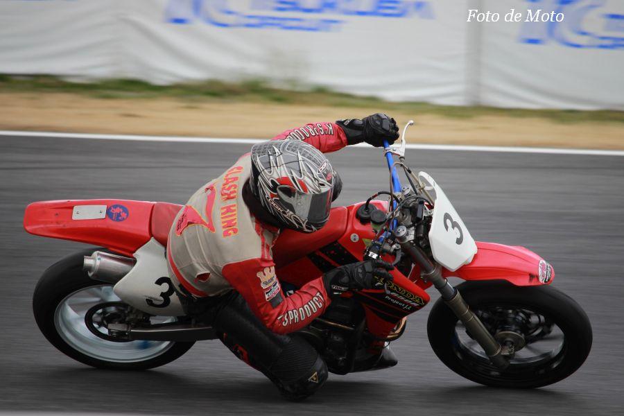 TC400 #3 TRS@FineRoadRT 酒井 利明 Honda XR650R