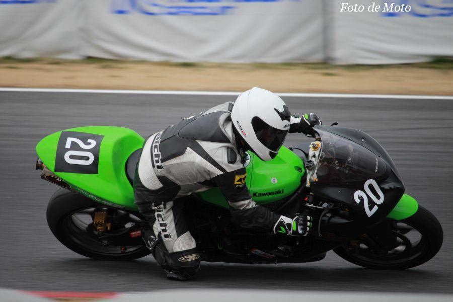 TC-Formula #20 モトストレッタ&ありんこ&城西 髙山 和也 Kawasaki ZX-6RR