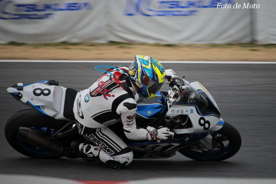 TC-Formula #8 A☆TEAMレーシング竹田塾 吉塚 浩司 BMW S1000RR HP4