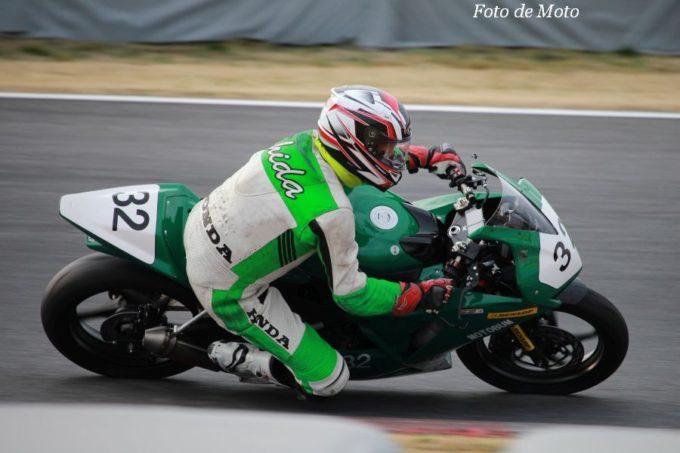 JP250(Nat) #32 レーシングクラブMOTOBUM 志田 光平 Honda CBR300R