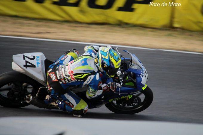 JP250(Nat) #24 OVERLAP PLUSONE 杉山 優輝 Honda CBR250R