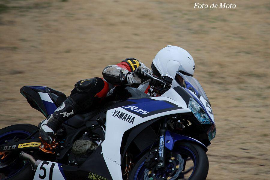 JP250(Nat) #51 51ガレージ チームイワキ 住谷 海 Yamaha YZF-R25