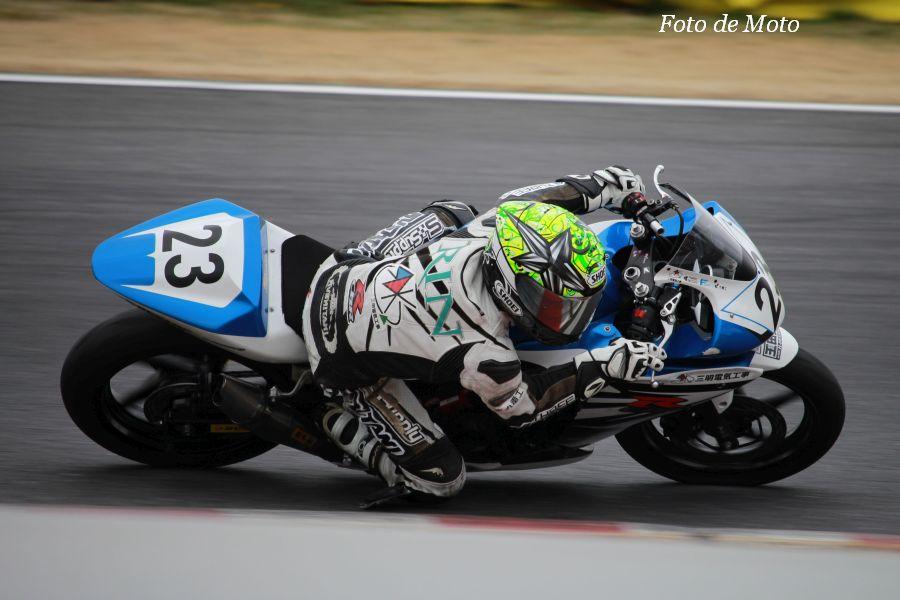 CBR250R #23 SANMEI+S-SUPPLY 古川 凜 Honda CBR250R