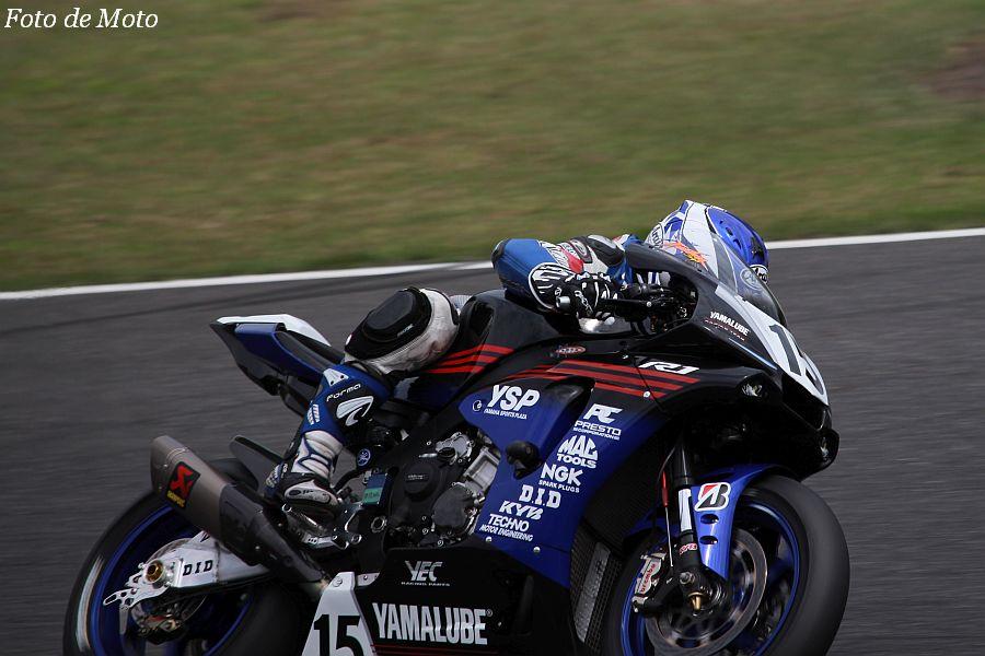 JSB1000 #15 YAMALUBE RACING TEAM 藤田 拓哉 YAMAHA YZF-R1