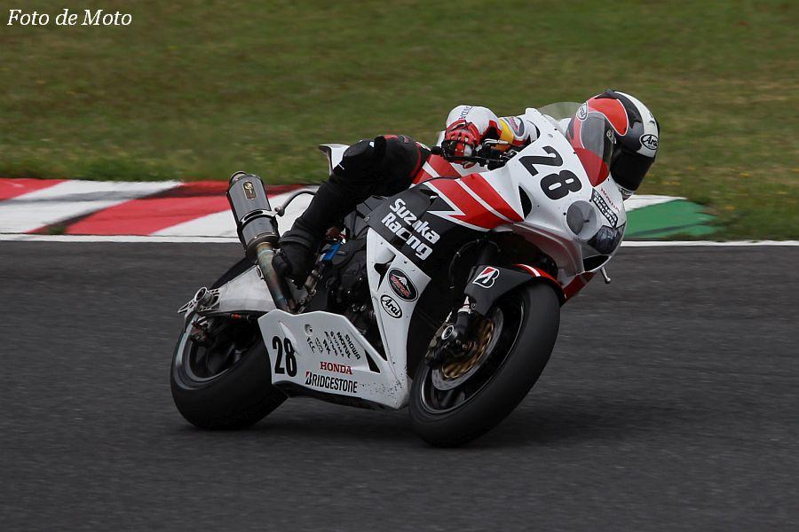 JSB1000 #28 Honda鈴鹿レーシングチーム 亀井 雄大 Honda CBR1000RR
