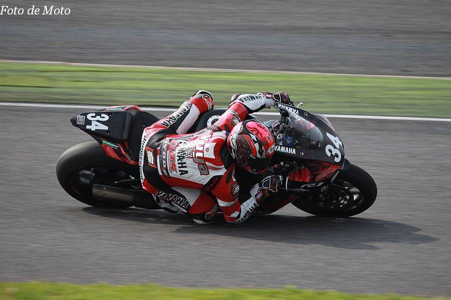 JSB1000 #34 GBSレーシング·YAMAHA 近藤 湧也 YAMAHA YZF-R1