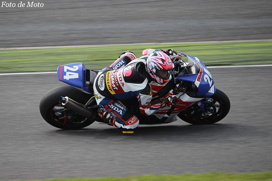 JSB1000 #24 Honda 浜友会浜松エスカルゴ 久保山 正朗/野寄 真二 Honda CBR1000RR