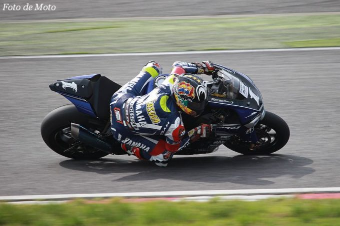 JSB1000 #1  YAMAHA FACTORY RACING TEAM 中須賀 克行 YAMAHA YZF-R1