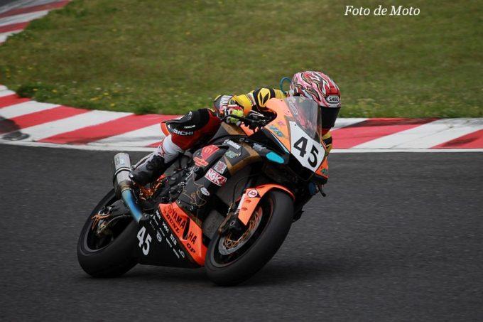 JSB1000 #45 TT45&CLEVER WOLF Racing 谷 誠士郎 YAMAHA YZF-R1