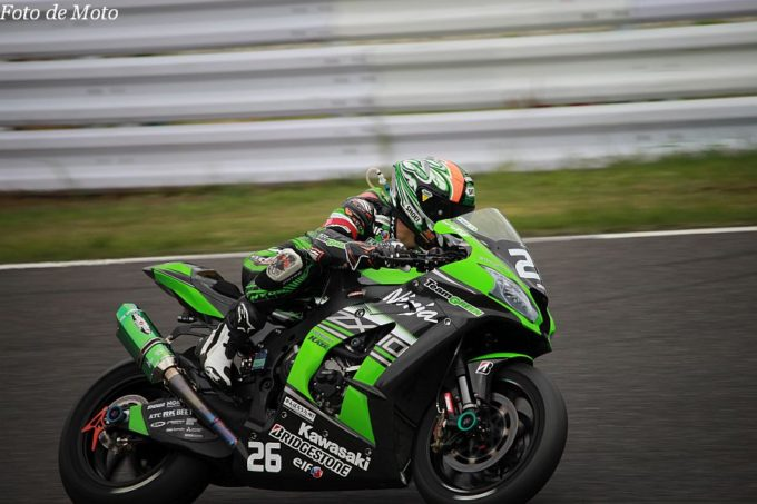 JSB1000 #26 Team GREEN 渡辺 一樹 KAWASAKI Ninja ZX-10R