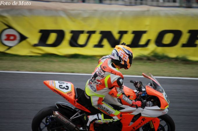 JP250 #63 Dog Fight Racing+YMプロジェクト 武佐 英典 Yamaha YZF-R25