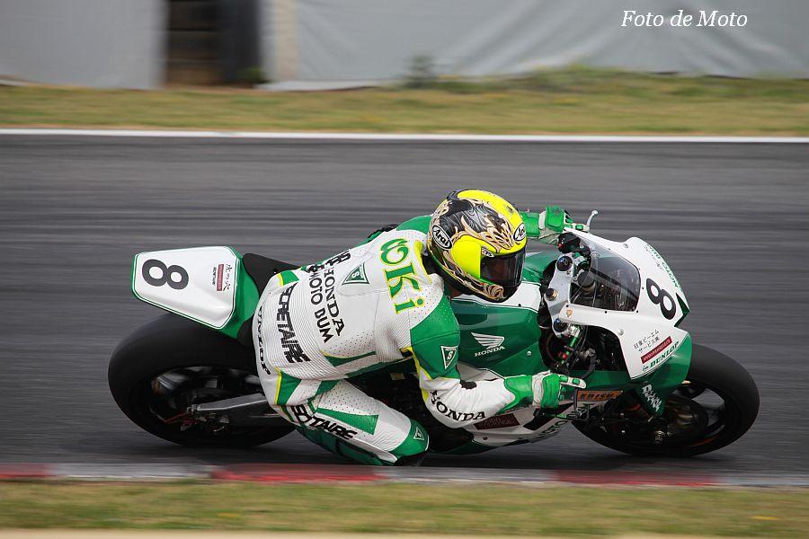 J-GP2 #8 MOTO BUM+虎の穴 大木 崇行 Honda CBR600RR