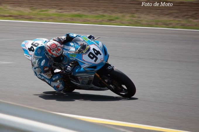 J-GP2 #94 Team KAGAYAMA 浦本 修充 Suzuki GSX-proto71