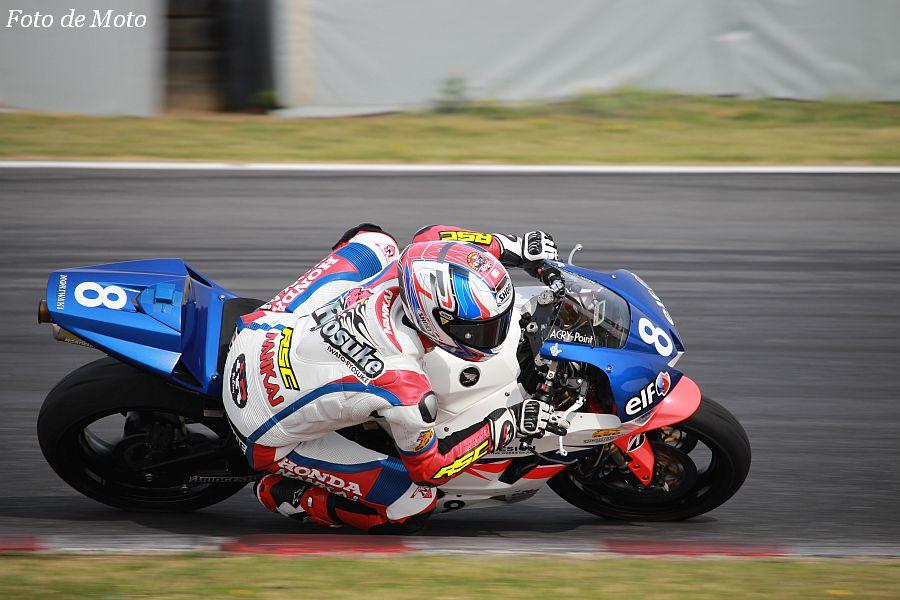 ST600 #8 Team高武 RSC 岩戸 亮介 Honda CBR600RR