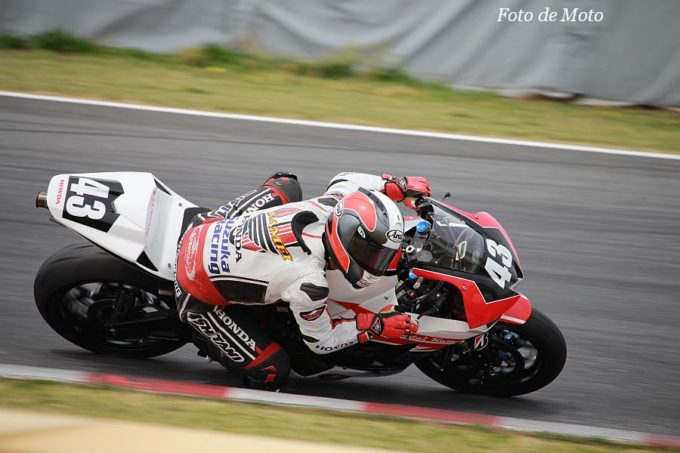ST600 #43 Honda鈴鹿レーシングチーム 亀井 雄大 Honda CBR600RR