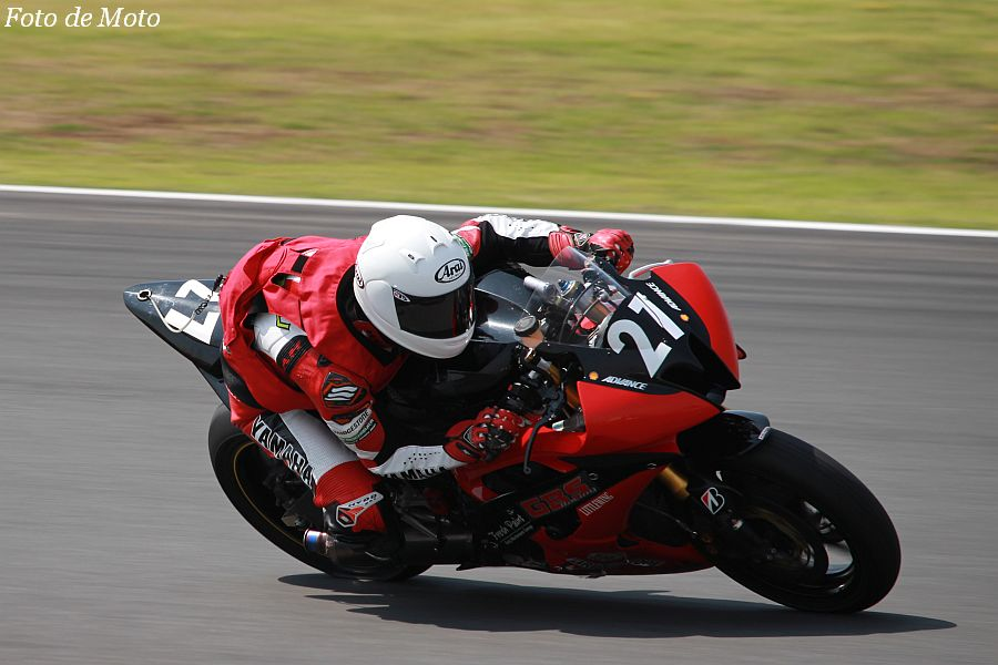 ST600 #27 GBSレーシング YAMAHA 森中 忍 Yamaha YZF-R6
