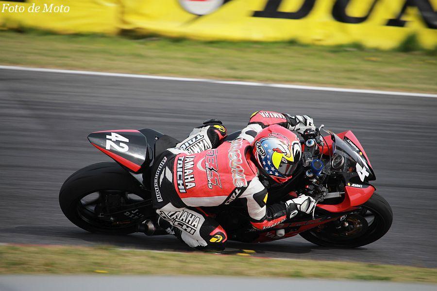 ST600 #42 GBSレーシング マツエ7 YAMAHA 名越 公助 Yamaha YZF-R6